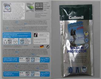 Collonil Outdoor Activ Wash in Protector