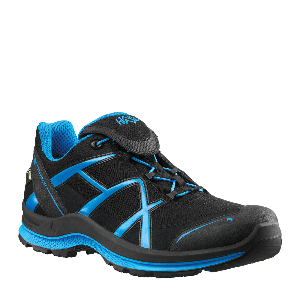 HAIX Black Eagle Adventure 2.0 low/black-blue/gtx