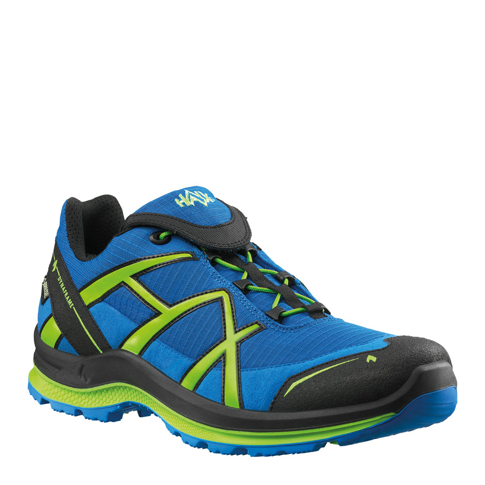HAIX Black Eagle Adventure 2.0 low/blue-citrus/gtx