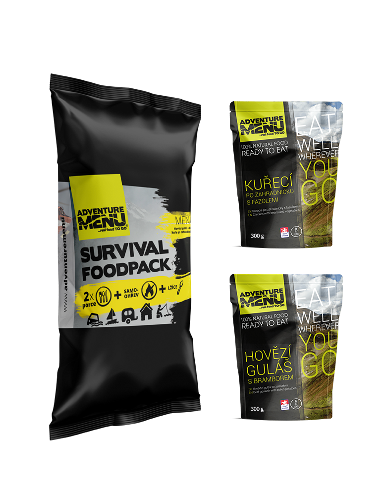 Survival food pack - menu I