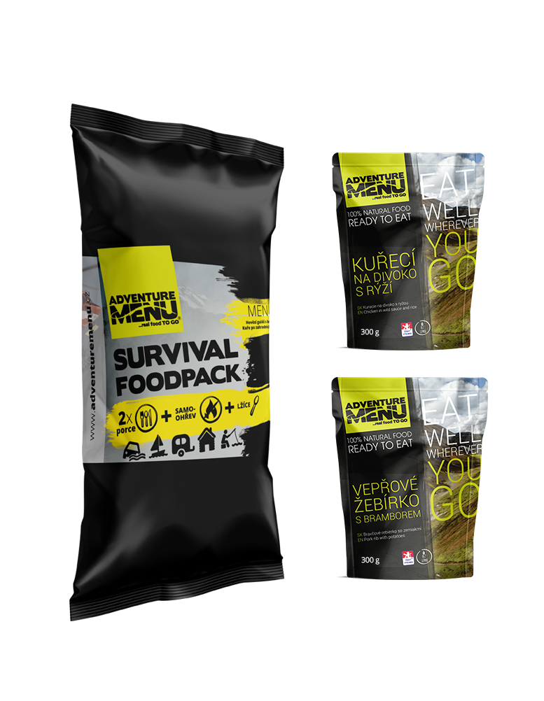Survival food pack - menu III
