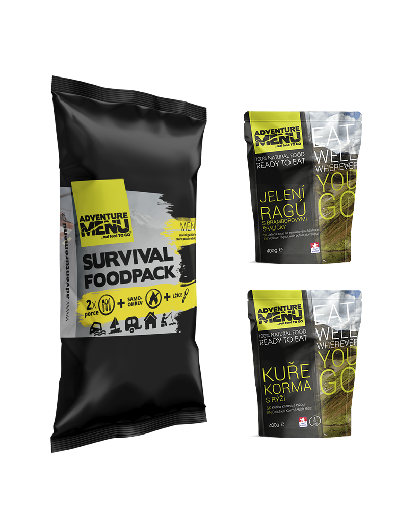 Survival food pack - menu IV
