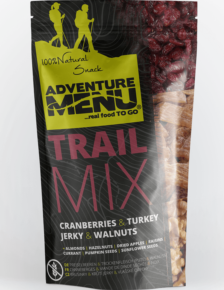 TRAIL MIX TURKEY/WALLNUT/CRANBERRIES 100 g
